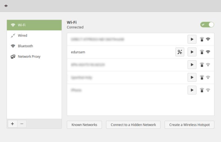 Verbinden met de Eduroam wifi op Linux