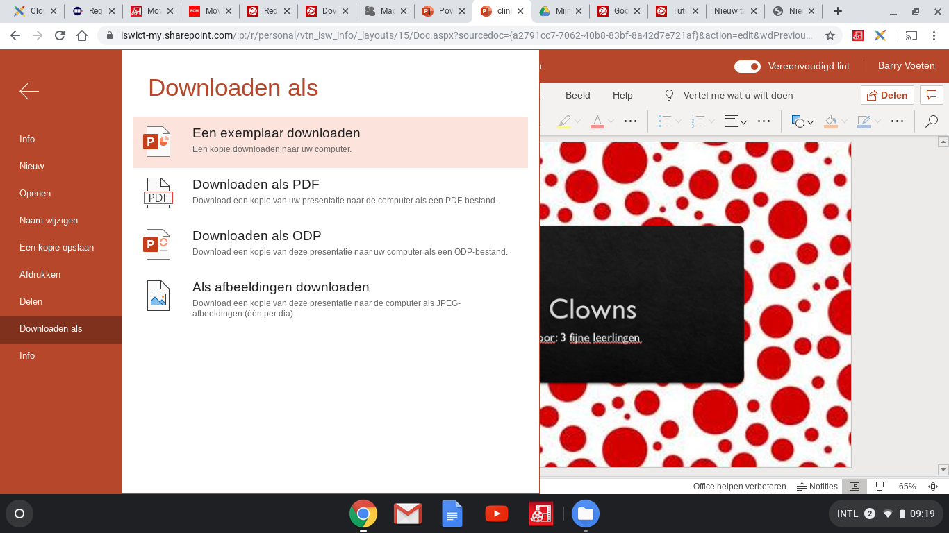 Het inleveren van je Office 365 document op Magister ELO