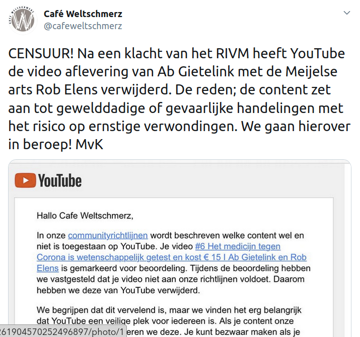 Lockdown slaat over naar social en video platforms