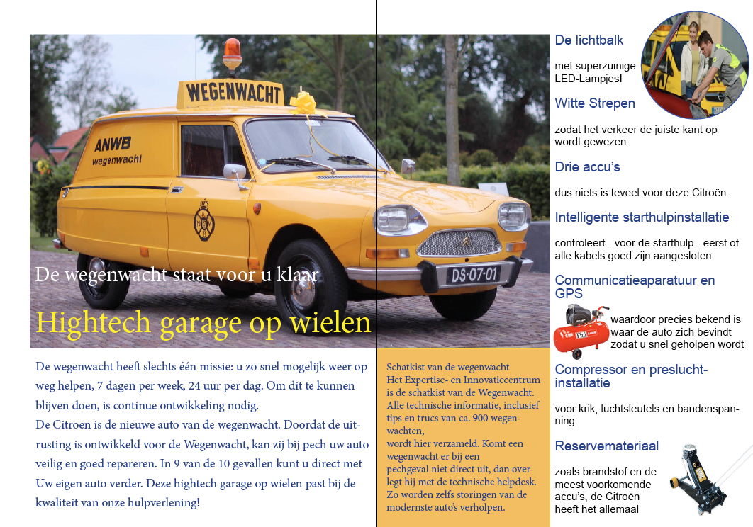 De Wegenwacht folder